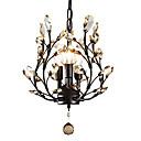 povoljno Lusteri-LightMyself™ 3-Light Lusteri Uplight Slikano završi Metal Crystal, LED 110-120V / 220-240V Bulb not included / E12 / E14