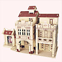 cheap 3D Puzzles-Wooden Puzzle Wooden Model Famous buildings Chinese Architecture House Professional Level Wooden 1 pcs Kid's Adults' Boys' Girls' Toy Gift