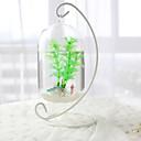 billige Akvarie Dekor og underlag-Miniakvarium Pyntegjenstander Glass Metall