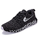 cheap Men's Athletic Shoes-Men's Athletic Shoes Spring Summer Fall Winter Comfort Light Soles Tulle Outdoor Casual Athletic Low Heel Lace-up Black Blue Red Gray