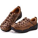 abordables Zapatillas sin Cordones y Mocasines de Hombre-Hombre Cuero de Napa Primavera / Verano / Otoño Confort Zapatillas de deporte Senderismo Marrón Claro / Fiesta y Noche