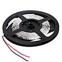 billige LED Lyskæder-5 m Fleksible LED-lysstriber 300 lysdioder 2835 SMD Varm hvid / Hvid / Rød Fjernbetjening / Chippable / Dæmpbar 12 V / Koblingsbar / Passer til Køretøjer / Selvklæbende
