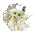 """זול פרחי חתונה-פרחי חתונה זרים עיצוב מיוחד לחתונה אירוע מיוחד מסיבה\אירוע ערב סטן אלסטי 13.78""""(כ-35 ס""""מ)"""