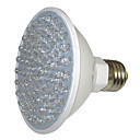 preiswerte LED Pflanzenlampe-1pc 5 W 450 lm E26 / E27 Wachsende Glühbirne 80 LED-Perlen SMD Dekorativ Rot / Blau 220-240 V / 1 Stück / RoHs