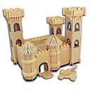 cheap 3D Puzzles-Wooden Puzzle Castle / Famous buildings / Chinese Architecture Professional Level Wooden 1pcs Gift