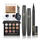 abordables Kits y Paletas para Ojos-Sombras de Ojos / Máscara / Lápices de Ojos Pinceles de Maquillaje Seco / Húmedo / Combinación Ojo