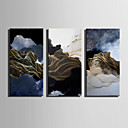 cheap Prints-Abstract Landscape Modern, One Panel Canvas Vertical Print Wall Decor Home Decoration