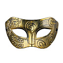billige Masker-CHENTAO Haloween-masker Maskerademasker Fest Horrortema Plast Vintage Retro Rød 1 pcs Deler Gutt Jente Leketøy Gave