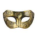 billige Høytidsmasker-CHENTAO Haloween-masker Maskerademasker Fest Horrortema Plast Vintage Retro Rød 1 pcs Deler Gutt Jente Leketøy Gave