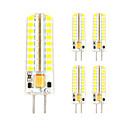 billige Bryllupsbånd-5pcs 3 W 300-330 lm GY6.35 LED-lamper med G-sokkel T 72 LED perler SMD 2835 Dekorativ Varm hvit / Kjølig hvit 12 V / 5 stk.