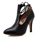 ราคาถูก รองเท้าส้นสูงผู้หญิง-รองเท้าสตรี-รองเท้าส้นสูง-สำนักงานและอาชีพ ไม่เป็นทางการ พรรคและเย็น-ความสะดวกสบาย-หนังเทียม-ส้นก้อน-สีดำ สีม่วง สีแดง ขาว