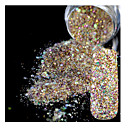baratos Gargantilhas-5g Glitter & Poudre / Pó Glitters / Clássico / Shimmering Diário