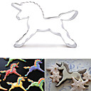 cheap Cake Molds-Bakeware tools Stainless steel 3D Cartoon / Creative Kitchen Gadget / DIY For Cake / For Cookie / For Candy Animal Cookie Cutters 1pc