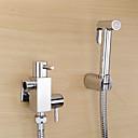 baratos Chuveiro de Mão-Clássica Ducha de Mão Cromado Característica - Amiga-do-Ambiente, Lavar a cabeça