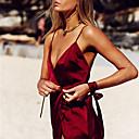 billige Smykke Sett-Dame Sexy Ultrasexy / Uniformer og kinesiske kjoler Nattøy - Ensfarget