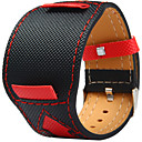 cheap Men's Watches-Canvas leather Watch Band Strap for Black 20cm / 7.9 Inches 2cm / 0.8 Inches
