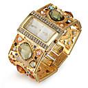 cheap Bakeware-Women's Bracelet Watch Japanese Quartz Imitation Diamond Alloy Band Analog Luxury Sparkle Fashion Gold - Gold Black One Year Battery Life / SSUO SR626SW