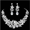 abordables Juegos de Joyería-Mujer Conjunto de joyas - Elegante Incluir Blanco Para Boda / Fiesta / Ocasión especial