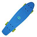 baratos Skate-22,5 polegadas Cruisers skate PP (Polipropileno) ABEC-7 Profissional Verde / Azul / Rosa claro