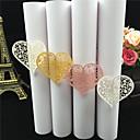 billige Bryllupsservietter-karton Paper Bryllup Servietter - 40pcs servietringe Bryllup Jubilæum Fødselsdag Forlovelsesfest Polterabend 15- og 16-års fødselsdage