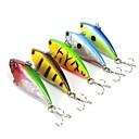 cheap Fishing Lures & Flies-5 pcs Fishing Lures Hard Bait / Vibration / VIB Hard Plastic Sea Fishing / Bait Casting / Spinning / Jigging Fishing / Freshwater Fishing / Bass Fishing / Lure Fishing / General Fishing