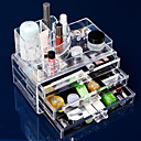 cheap Jewelry & Cosmetic Storage-Makeup Tools Makeup Cosmetics Storage Makeup Acrylic Classic Daily Daily Makeup Cosmetic Grooming Supplies