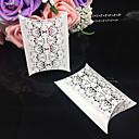 baratos Suporte para Lembrancinhas-Redonda Quadrada Almofadado Papel de Cartão Suportes para Lembrancinhas com Estampado Caixas de Ofertas