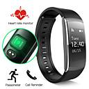 baratos Pulseiras Smart & Monitores Fitness-Pulseira inteligente iOS Android Controlador de Tempo Tela de toque Monitor de Batimento Cardíaco Impermeável Calorias Queimadas
