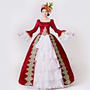 hesapli Eski Dünya Kostümleri-Prenses Tanrıça Elbiseler Cosplay Kostümleri Maskeli Balo Balo Kadın's Rococo Ortaçağ Rönesans Yılbaşı Cadılar Bayramı Karnaval Festival / Tatil Kıyafetler Büyük Bedenler özelleştirilmiş Balo Abiyesi