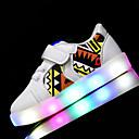 preiswerte Jungenschuhe-Jungen Schuhe Kunstleder Frühling / Sommer Lauflern / Leuchtende LED-Schuhe Sneakers Walking LED für Weiß / Schwarz / Rosa