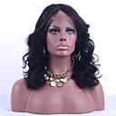 billige Bakeredskap-Ekte hår Helblonde Parykk Løse bølger Parykk 130% Hair Tetthet Naturlig hårlinje Afroamerikansk parykk 100 % håndknyttet Dame Kort Medium Lengde Lang Blondeparykker med menneskehår