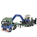 olcso Játék hangszerek-Kotrógép Teherautó Toy Teherautók és építőipari járművek Játékautók 01:50 Fémes Gyermek Uniszex Fiú Lány Játékok Ajándék
