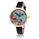 ieftine Ceasuri La Modă-Pentru femei Quartz Ceas de Mână Cool / Ceas Casual PU Bandă Floare / Casual / Modă Negru / Alb / Albastru / Roșu / Maro / Verde / Pink