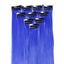 abordables Extensiones sintéticas-Neitsi Clásico Pelo sintético 18 pulgadas La extensión del pelo Con Clip Mujer Diario