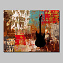 cheap Oil Paintings-Hand Painted Modern Abstract Oil Painting On Canvas Memory Instrument Wall Picture For Home Decoration Ready To Hang