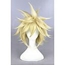 preiswerte Kostümperücke-Synthetische Perücken / Perücken Glatt Blond Synthetische Haare Blond Perücke Damen Kurz Kappenlos