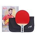 זול שולחן טניס-Ping Pang / מחבטי טניס שולחן עץ 6 כוכבים ידית קצרה / פצעונים ידית קצרה / פצעונים