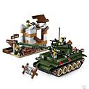 cheap Building Blocks-ENLIGHTEN Building Blocks 214 pcs DIY Classic Tank Unisex Boys' Girls' Toy Gift