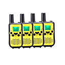 preiswerte Walkie Talkies-899 446 Funkgerät Tragbar Batterie-Warnanzeige Stromsparfunktion VOX CTCSS/CDCSS Auto-Übertragung Rücklicht LCD Scannen Kontrolle 5km-10Km