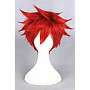 cheap Costume Wigs-short gekkan shoujo nozaki wig mikoshiba mikoto wig cosplay red synthetic 14inch anime cosplay costume hair wig cs 213d Halloween