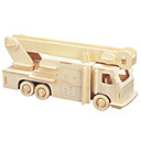 billige 3D-puslespill-3D-puslespill / Puslespill Brannbiler GDS 1pcs Brannbil Barne Unisex Gave