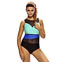זול עגילים אופנתיים-קולור בלוק חלק אחד (שלם) בלוק צבע בגדי ריקוד נשים / מראה ספורטיבי