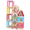 povoljno Pločasti blokovi-Kocke za slaganje Poučna igračka Igračke za kućne ljubimce Dvorac Komadi Dječji Dječaci Poklon