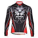 cheap Running Shirts, Pants & Shorts-TASDAN Men's Cycling Jersey Bike Jersey Breathable, Quick Dry, Back Pocket Lion Winter Road Cycling Relaxed Fit Bike Wear / Stretchy