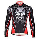 baratos Anéis para Homens-TASDAN Homens Camisa para Ciclismo Moto Camisa / Roupas Para Esporte Secagem Rápida, Respirável Sólido Roupa de Ciclismo