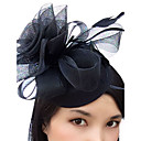 cheap Party Headpieces-Feather / Net Fascinators / Hats / Birdcage Veils with 1 Wedding / Special Occasion Headpiece