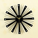 abordables Relojes de Pared Modernos y Contemporáneos-Casual / Moderno / Contemporáneo / Retro Madera / Vidrio / Metal Redondo Interior / Exterior,AA