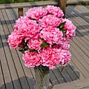 זול פרח מלאכותי-פרחים מלאכותיים 1 ענף סגנון מינימליסטי אדמוניות פרחים לשולחן