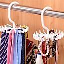 cheap Wall Stickers-Adjustable 20 Hook Rotating Belt Rack Scarf Organizer Men Tie Hanger Holds