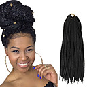 cheap Hair Braids-box braids twist braids natural black hair braids 24inch kanekalon 90g synthetic hair extensions